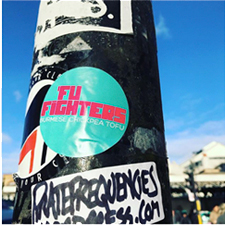 Brighton Fu-fighters Sticker