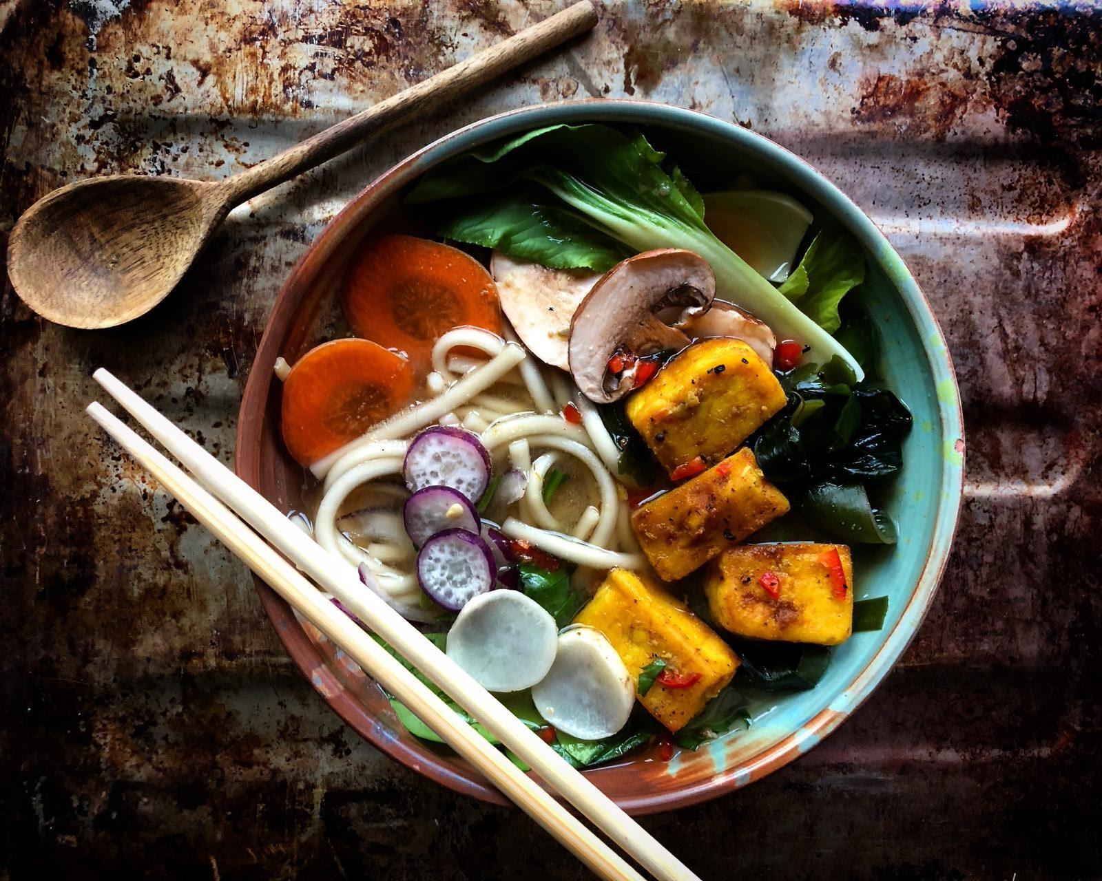 Gem's Tofu Chilli Ramen