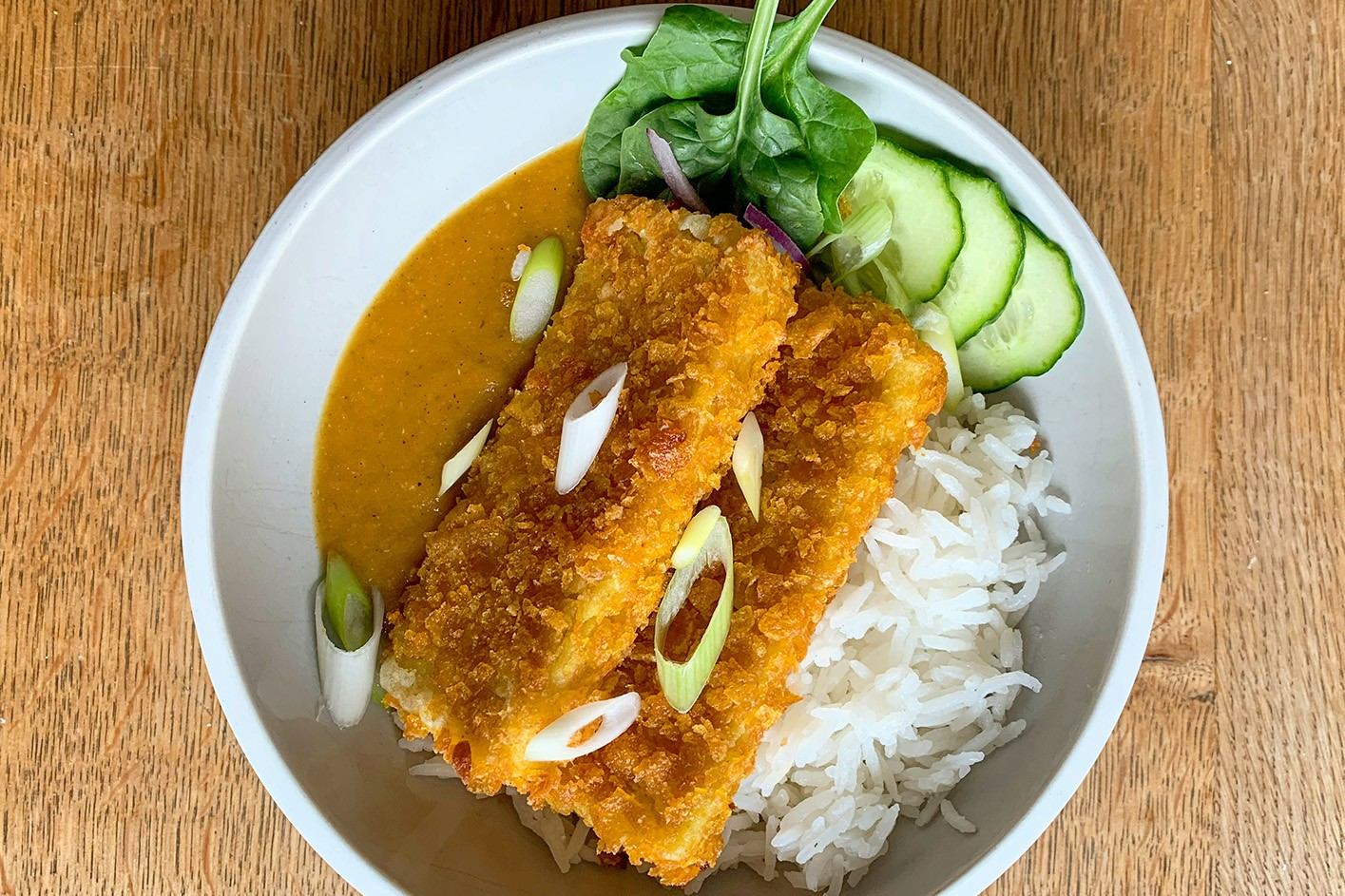Quick Tohu Katsu Curry